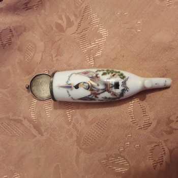 porcelán pipa