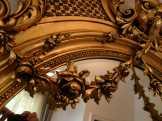 Antik barokk tükör