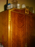 antik hálószoba garnitúra