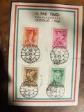 1939 I. PAX TING  Bélyegsor Gödöllő