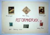 19 század Reformkori bélyeg összeállítás  6 db