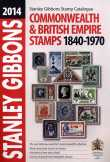 2014 évi Stanley Gibbons bélyeg katalógus.