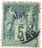Franciaország forgalmi bélyeg 1876