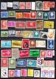 Holland pecsételt bélyegek (e 453) 20. 55 db