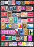 Holland pecsételt bélyegek (e 454) 56 db, 15,70 EU