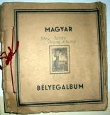 Magyar Bélyegalbum 96 oldalas Déry Tamás albuma