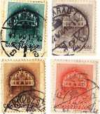 Sacra Corona bélyegsor