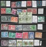 Svájci p bélyeg 34 db 30,80 EUR ké 1906-92 (f 616)