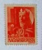 Szent László Király 2f magyar királyi posta bélyeg