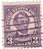 USA forgalmi bélyeg 1927