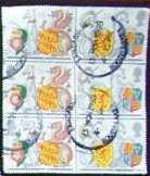 Walesi bélyeg sárkánnyal pecsételt