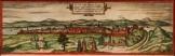 Buda térkép 1572  másolat reprodukció reprint