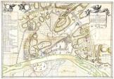 Buda térkép 1686 latin nyelvű  másolat reprint