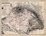 Magyarország statisztikai térképe 1862  másolat