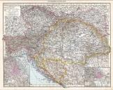 Osztrák - Magyar Monarchia térkép II. másolat