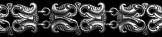 Félhold alakú karkötő 11mm széles ezüst