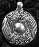 Ősi szkíta medál 35mm átmérőjű, ezüst