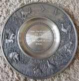 Sks Zinn 95% ón tányér 25 cm