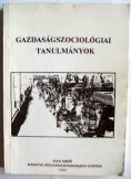 BKE Gazdaságszociológiai tanulmányok 1989