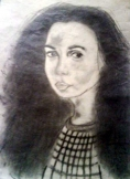 Jónásné Nagy Tímea: Szomorúságban női portré