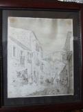 Olaszországi utcakép ,túsrajz 1919.