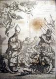 Szent Márton sérült szakadt metszet
