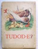Tudod-e? állatos régi kihajtós könyv kicsiknek