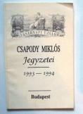 Vasárnapi Ujság:Csapody Miklós jegyzetei 1993-1994