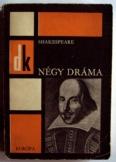 William Shakespeare: Négy Dráma Diákkönyvtár