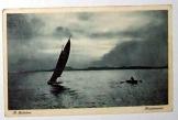 A Balaton naplemente képeslap  futott 1941-ben
