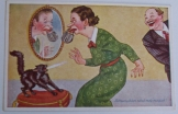 Asszonykám nézd   régi magyar szatirikus képeslap