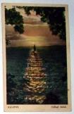 Balaton Csillogó habok képeslap futott 1942-ben