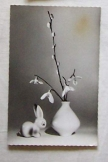 Húsvéti üdvözlő képeslap futott