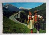 Innsbrucker Tirol osztrák postatiszta képeslap
