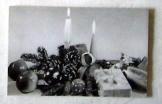 Karácsonyi üdvözlő képeslap  postatiszta