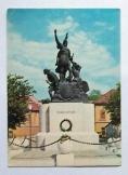 Képeslap Eger Dobó István szobor Bakonyi Béla fotó