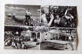KISZ építőtábor FNYV 23. telep képeslap futott