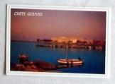 Kréta sziget részlet görög képeslap futott