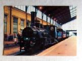 MÁV 204. pályaszámú gőzmozdonya képeslap