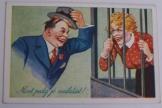 Most pedig jó mulatást  magyar szatirikus képeslap