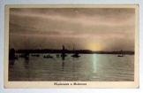 Naplemente a Balatonon 1943 nem futott képeslap