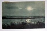 Naplemente a Balatonon képeslap futott 1912-ben