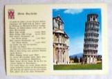 Pizzai ferdetorony olasz postatiszta képeslap
