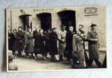 Régi német képeslap postatiszta Foto Gasbach