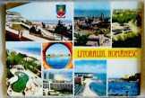 Román tengerpart a Fekete-tengernél képeslap