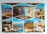 Sovenir of Corinth görög postatiszta képeslap