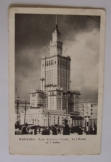Varsó Warszawa Kultúrpalota lengyel képeslap