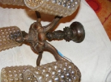 5-karu antik csillár