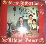 Golden Zitherflange LP Bakelit
