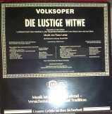 Lehár F. - Die Lustige Witwe dupla LP Bakelit